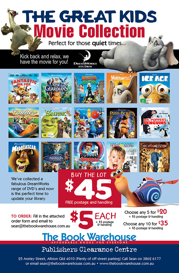 Great Kids Movie Offer