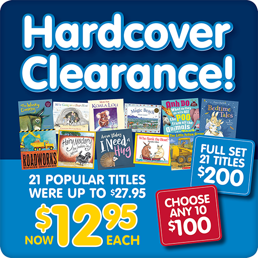 Hardcover Clearance Button 512pixels