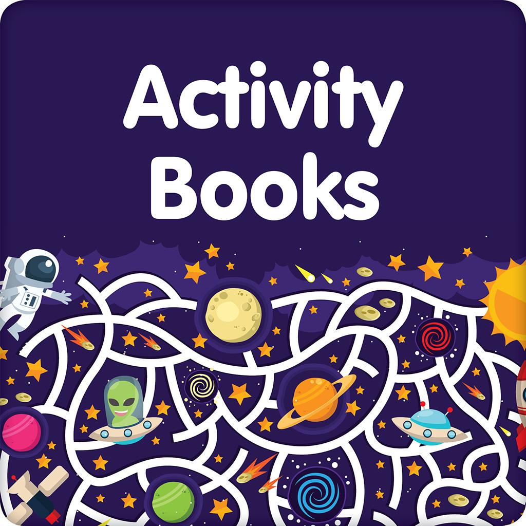 Activity Books Button 1024x1024pixels