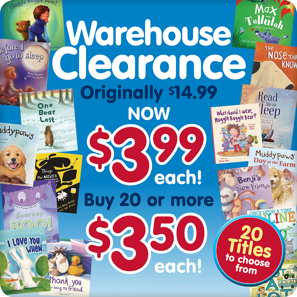 Warehouse Clearance Button 1024x1024pixels